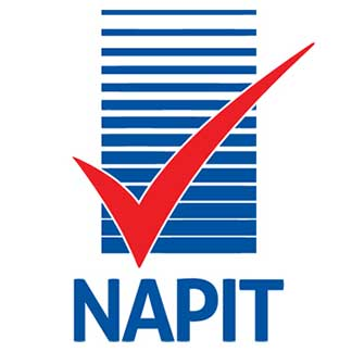Napit registered trade person logo