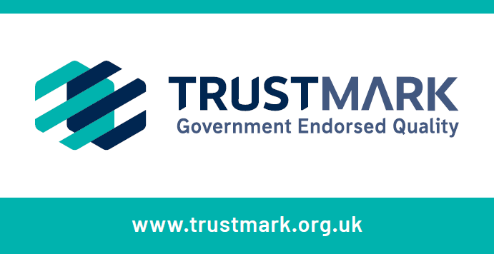 Tustmark logo  - trusted Electrician