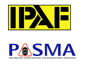 IPAF & PASMA qualified electricians logo