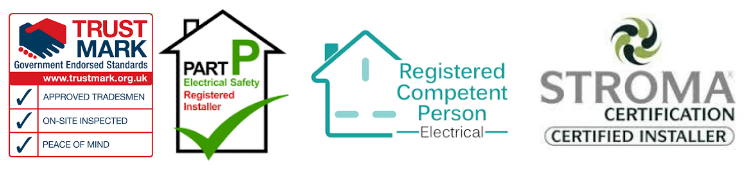 Electrician in Bristol accreditations